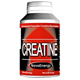 240 Creatine Capsules (850mg)par Novo-Energy