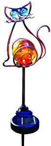 Moonrays 92211 Solar Powered Cat Landscape Stake Light