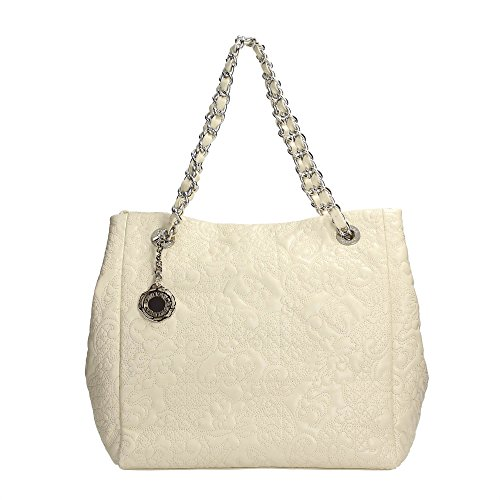 Scervino Street SCBPU0000246 Shopper Donna Ecopelle Off White Off White TU