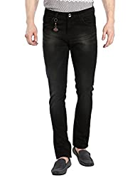 Fever Men's Jeans (211671-2-36_Black)