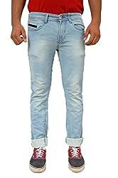 Evanzo Men's Skinny Jeans (EW3CA531733_Blue_30W x 32L)