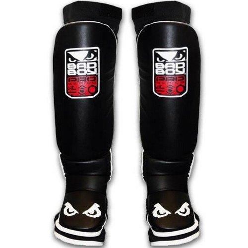 Bad Boy Men's MMA Shin Guard - Black, Small/Medium