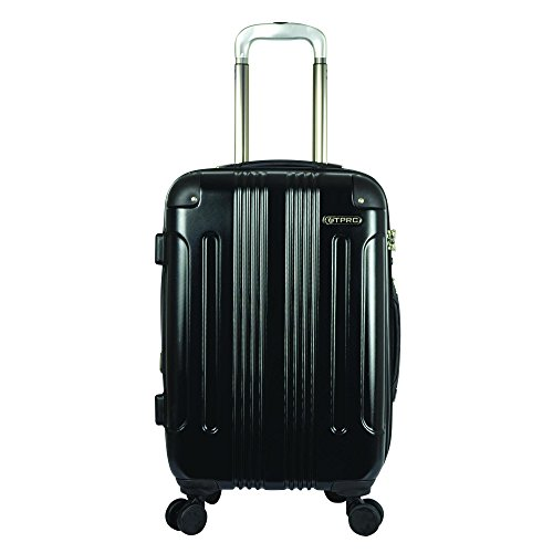 travelers-polo-racquet-club-calypso-20-inch-pet-expandable-carry-on-spinner-black-one-size