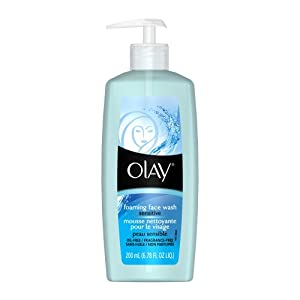 Olay Sensitive Foaming Face Wash (Pack of 2)