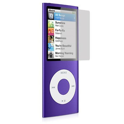Screen and Surface Protector Shield for Apple iPod Nano 4G - 4th Generation