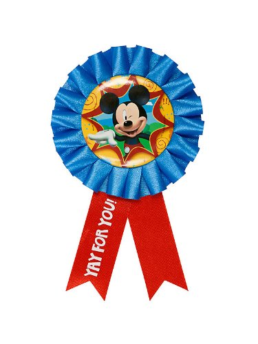 Mickey Mouse 'Fun and Friends' Guest of Honor Ribbon (1ct)