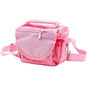 Vktech® Canvas & Synthetic Leather Polka Dot backpack shoulder bag