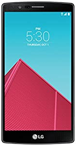 LG G4 Unlocked Smartphone with 32GB Internal Memory, 16 MP Camera and 5.5-Inch IPS Quantum Display for GSM and CDMA (Black Leather)