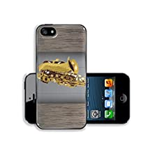 buy Msd Apple Iphone 5 Iphone 5S Aluminum Plate Bumper Snap Case Saxophone Vintage For Text On Grunge Background Image 19337423