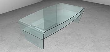 Tavolino in vetro BonBon T30, Colore: Tutto trasparente Art.T30C/01