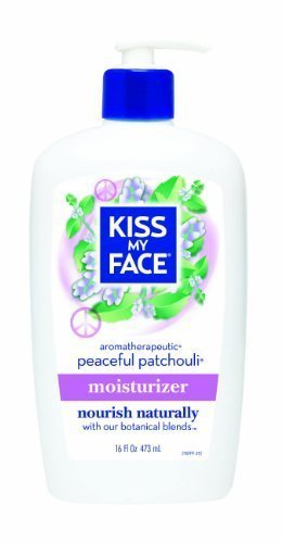 Kiss My Face Peaceful Patchouli Ultra Moisturizer, 16-Ounce