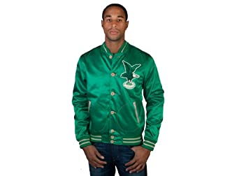 Philadelphia Eagles Mitchell & Ness Game Changer Satin Jacket by Mitchell & Ness