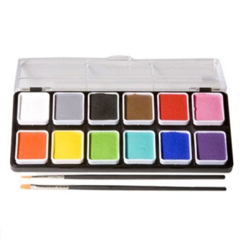 Wolfe palettes essentials 12 colors top painting for Best paint supplies