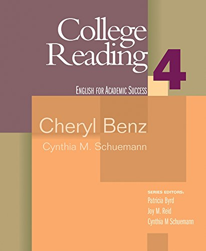 College Reading 4 (Houghton Mifflin English for Academic...