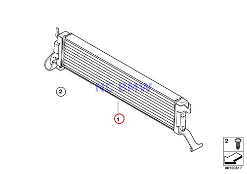 BMW Genuine Radiator Engine Cooling Oil Cooler X5 4.4i X5 4.8is (Engine Oil Cooling Bmw X5 compare prices)