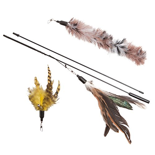 Feather-Wand-Cat-Toy-Includes-3x-Feather-Refills-These-Natural-Feathers-Are-Guaranteed-To-Drive-Your-Cat-Wild