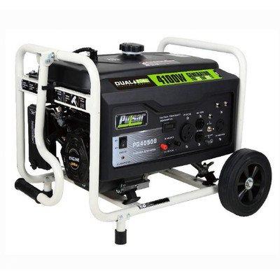 Pulsar PG4050B Dual-Fuel Generator, 4500-watt Output