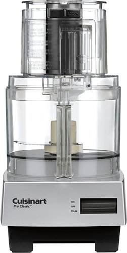 Cuisinart 7 Cup Pro Classic Food Processor, Brushed Chrome