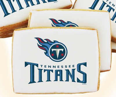 NFL Tennessee Titans Cookies 16 pc Gift Box