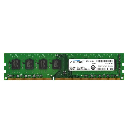 Top Product Crucial 4gb Single Ddr3 1600 Mt S Pc3 12800 Cl11