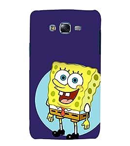 printtech Spongebobb Cartoon Back Case Cover for Samsung Galaxy J7 (2016 EDITION)