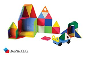 Magna-Tiles Solid Colors 48 Piece DX Set from Valtech llc
