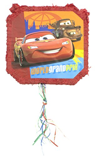 Cars Pull Pop-Out Piñata