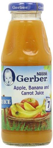 Gerber Apple, Banana and Carrot Juice 300 ml (Pack of 12)