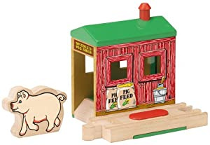 Thomas & Friends Wooden Railway - McColl's Pig Shed
