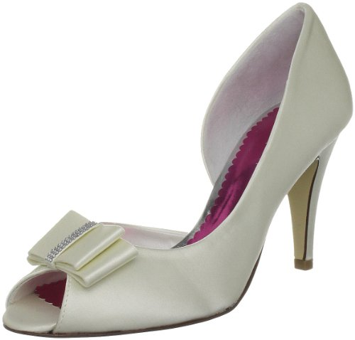 Van Dal Women's Maggie II Ivory Silk Bridal 8514100 4.5 UK