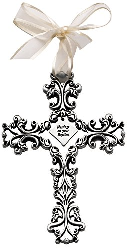 Cathedral Art FC304 Baptism Baby Cross, 5-Inch High