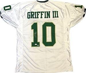 Signed Robert Griffin III Jersey - RG3 White w COA - JSA Certified - Autographed... by Sports+Memorabilia