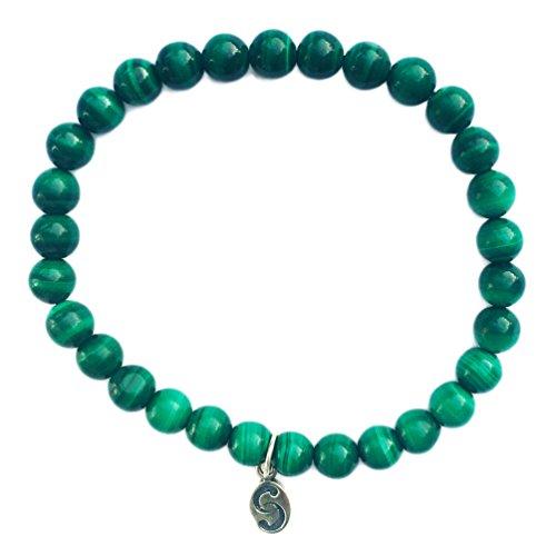 apoccas-semi-precieux-cristal-bracelet-agni-malachite-vert-6-mm-balle-taille-etiquette-argent-sterli