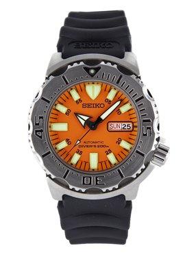 Seiko men s skx781 orange monster automatic dive watch - Orange dive watch ...