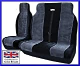 Nissan Primaster SE DCI 2002 Onwards Luxury Van Seat Covers Black & Grey