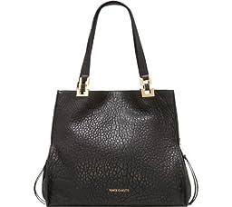 Vince Camuto Adela Tote Shoulder Bag, Black, One Size