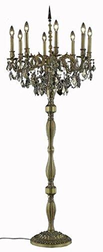 """Reynard 8-Light 24""""D Crystal Floor Lamp 7827Fl24Fg-Gt-Rc"""