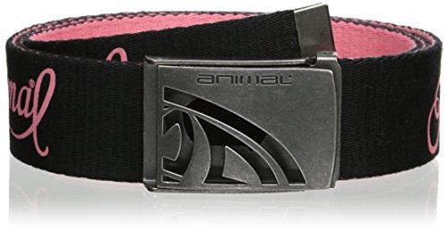 Animal Women's Alabama Belt, Black, Medium (Manufacturer