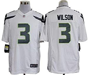 Youth #3 Russell Wilson Seattle Seahawks Game Jersey by LEAGUE GEAR
