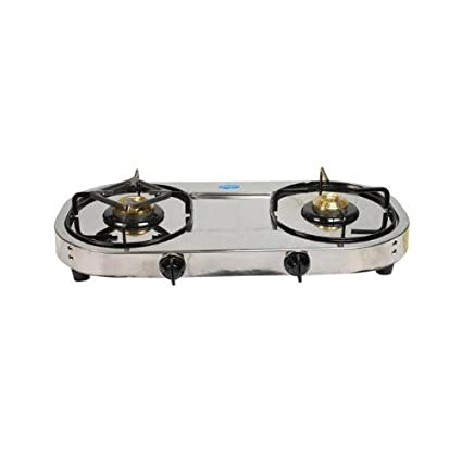 1026 Stainless Steel Gas Cooktop (2 Burner)