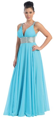 US Fairytailes Prom Dress New Elegant Long Gown #2759