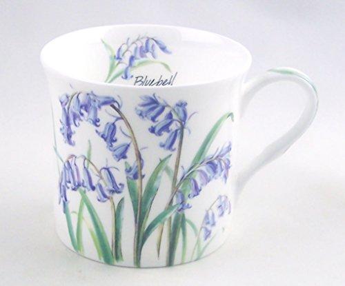 Heath McCabe Fine English Bone China Mug - Bluebell Chintz - 12 Ounce (China Coffee Service compare prices)