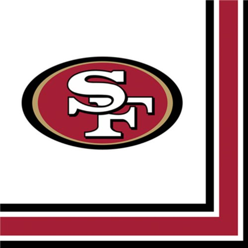San Francisco 49ers Luncheon Napkins - 1