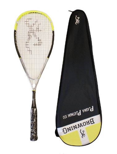 Browning Plasma Platinum 100 Squash Racket
