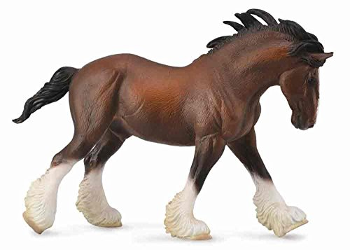 CollectA Clydesdale Stallion, Bay