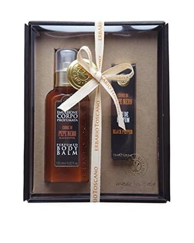 Erbario Toscano Black Pepper Body Balm & Eau de Parfum Gift Set