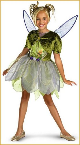 Tinkerbell Costumes Deluxe Tinkerbell Kids