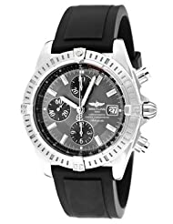 Men's Windrider Automatic/Mechanical Chronograph Slate Grey Dial Black Polyurethane