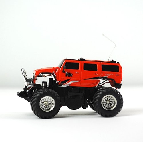 Rc Radio Control Mini Simulated Cross-country Racing Car (49mhz) Red
