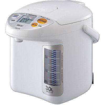 Buy Discount Zojirushi CD-LFC30 Panorama Window Micom Water Boiler and Warmer, 101 oz/3.0 L, White
